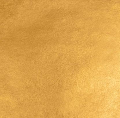 Immagine di Oro vero zecchino doppio spessore colore arancio a 23 ¾ KT Decalco