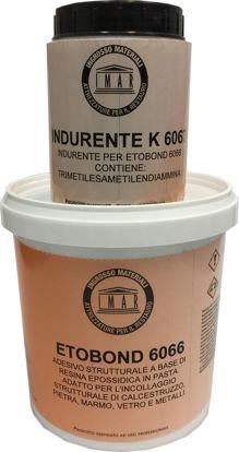 Immagine di Etobond 6066 + indurente 6067 epossidica in pasta bianca