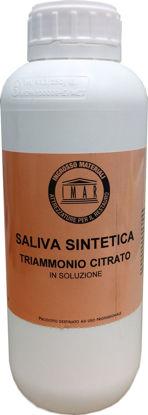 Immagine di Saliva Sintetica in soluzione (ammonio citrato tribasico) Confezione Lt. 1