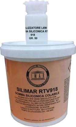 Immagine di Gomma siliconica colabile Silimar RTV 918 + catalizzatore