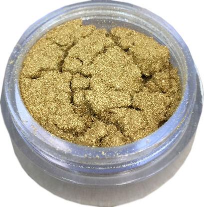 Immagine di Oro vero zecchino in polvere colore arancio 23 3/4 KT gr 1