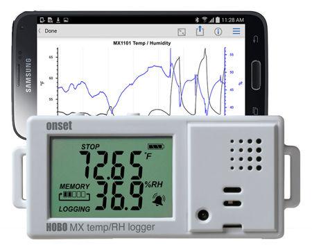 Immagine di Datalogger / Bluetooth Temperatura ed umidità