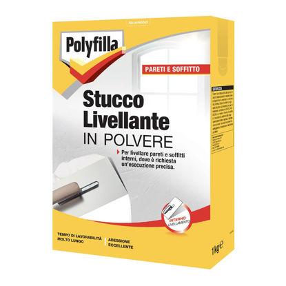 Immagine di Polyfilla stucco livellante in polvere kg 1
