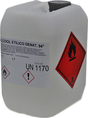 Immagine di Alcool Etilico 94° denaturato incolore
