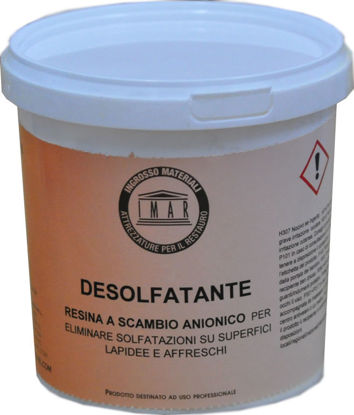 Immagine di Desolfatante resina a scambio anionica forte