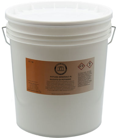 Immagine di Pittura minerale al silicato di potassio BIANCA