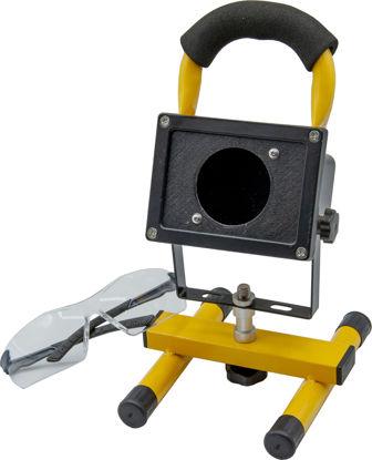 Immagine di Faro proiettore di Wood UV a batteria ricaricabile uso professionale